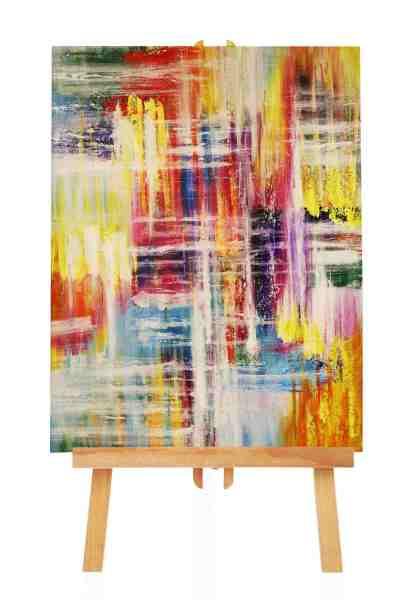 Acrylgemälde mit vielen Farben