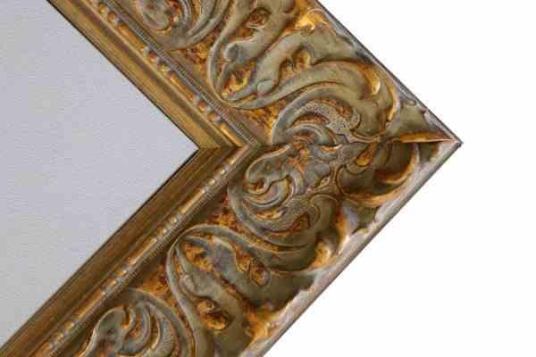 Antiker Bilderrahmen gold Barock breit