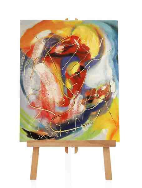 abstraktes Farbbild