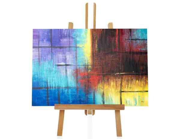 """Acrylbild """"Color Approach"""""""