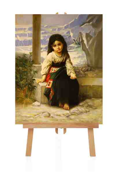 Ölbild von Adolphe Bourguereau