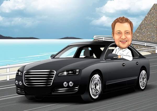 Auto für Machos