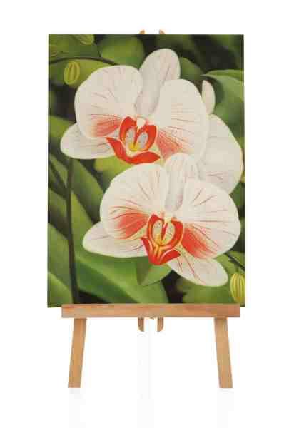 gemalte Blumen als Ölgemälde