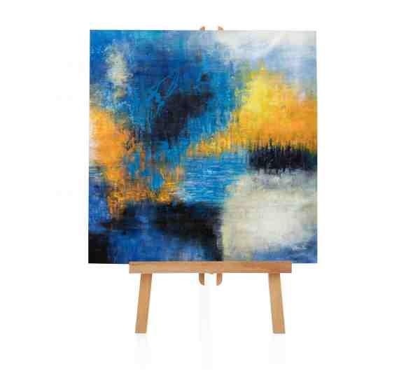 """Acrylbild """"Blue Rush"""""""