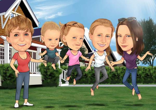 Familien Sprung
