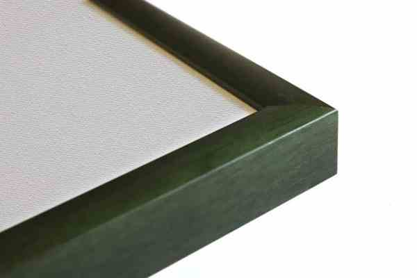 Standard Holzrahmen grün