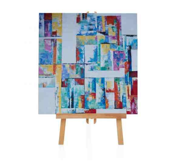 """Acryl Gemälde """"Capitale"""""""