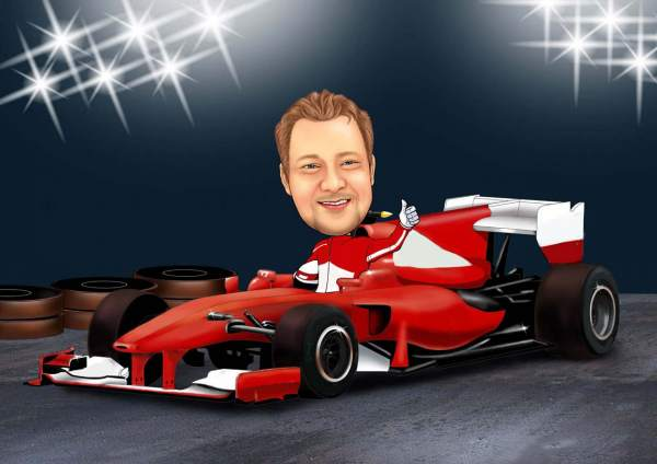 Formel 1 Wagen