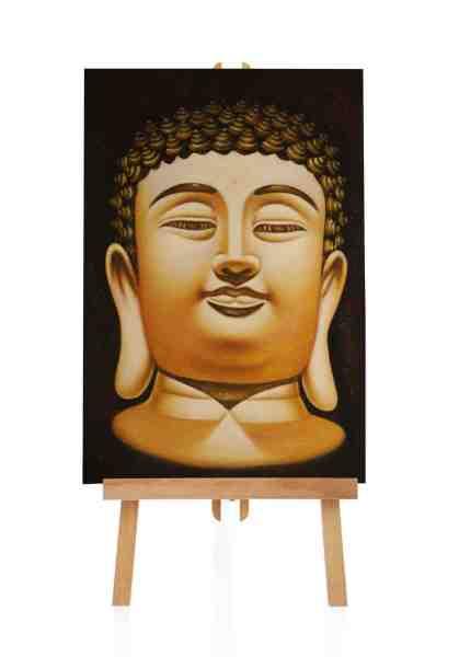 Buddha Ölgemälde