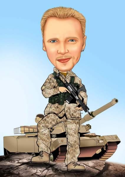 Soldat im Einsatz