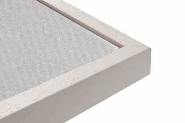 Standard Holz Bilderrahmen Weiß auf Natur