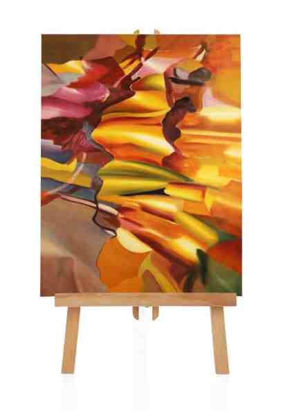 abstraktes modern Art Gemälde