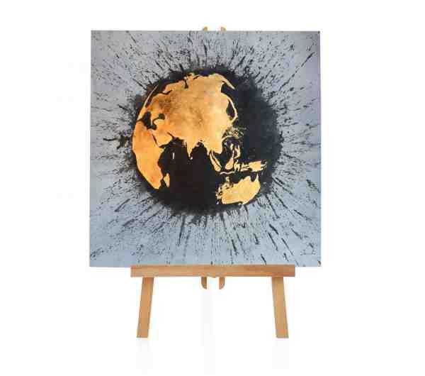 """Acrylbild """"Unsere Erde"""""""
