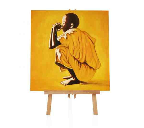 Mönch Ölbild