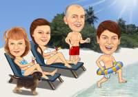 Spaß im Urlaub