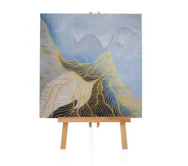 """Acryl Gemälde """"Nest der Melodie"""""""