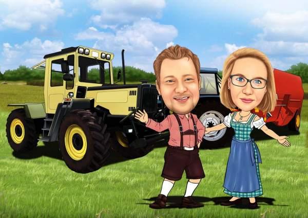 Bayrische Landwirte