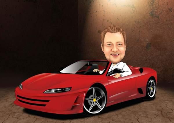 Roter Ferrari