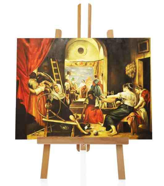 Die Spinnerinnen Velazquez Ölbild