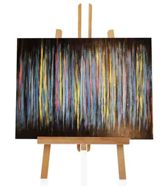 """Acrylbild """"Spiel der Farben"""""""