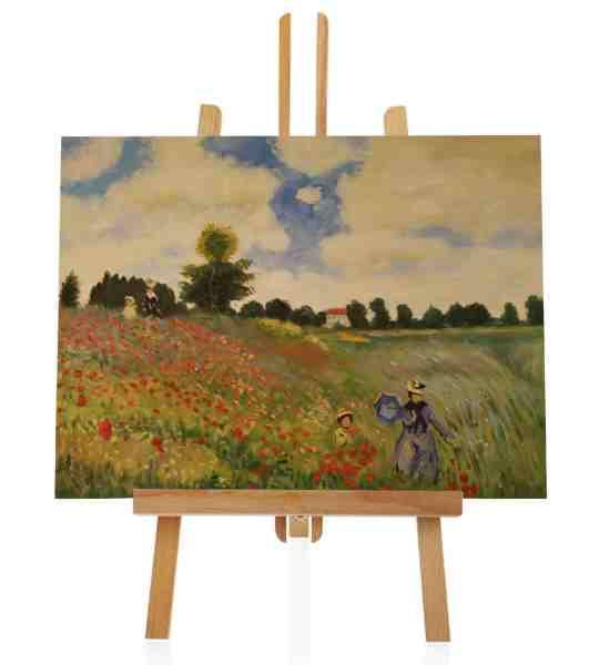 Mohnfeld bei Argenteuil von Claude Monet