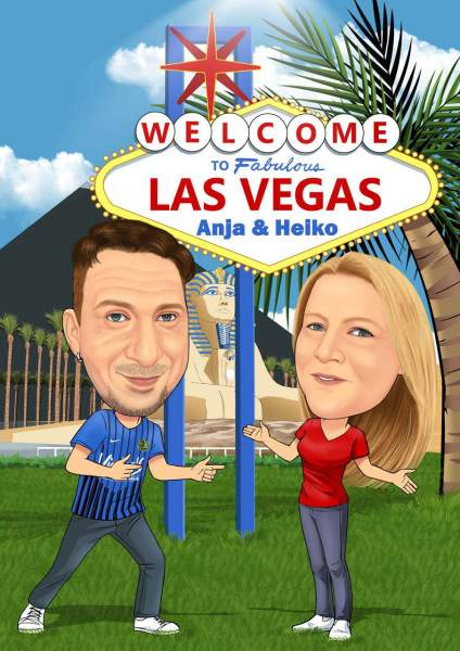 Anja & Heiko in Vegas