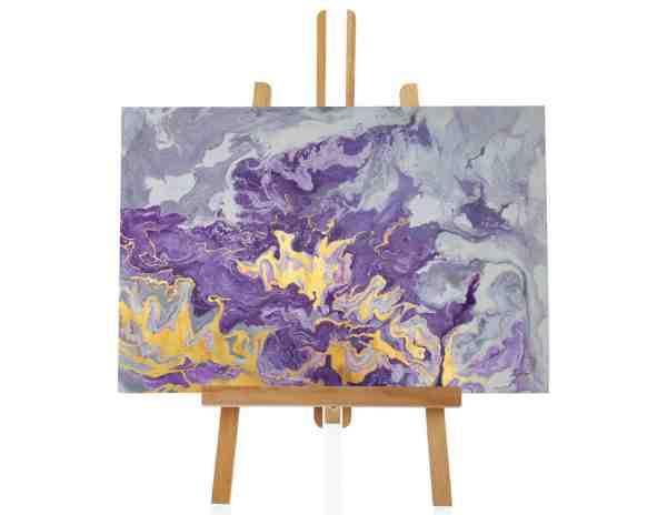 """Acrylbild """"Purple Blur"""""""