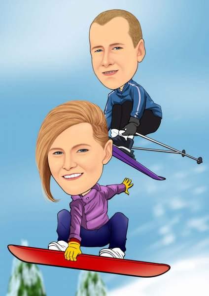 Ski Stunts