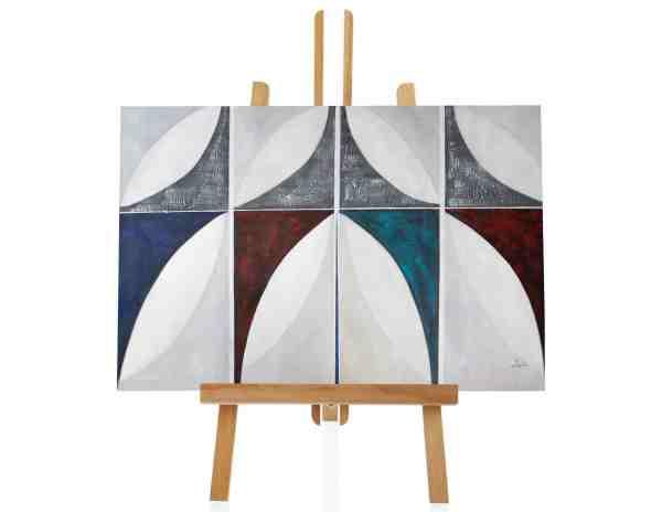 """Acrylbild """"Eight Pattern"""""""