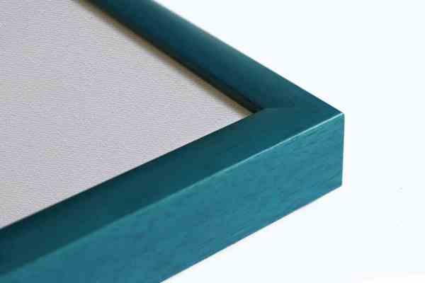 Standard Holzrahmen blau