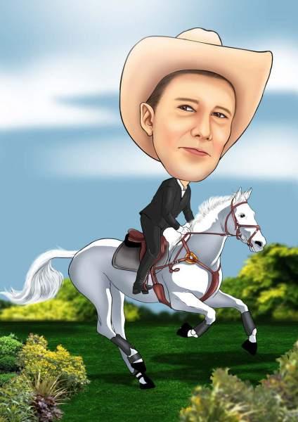 Das weiße Pferd