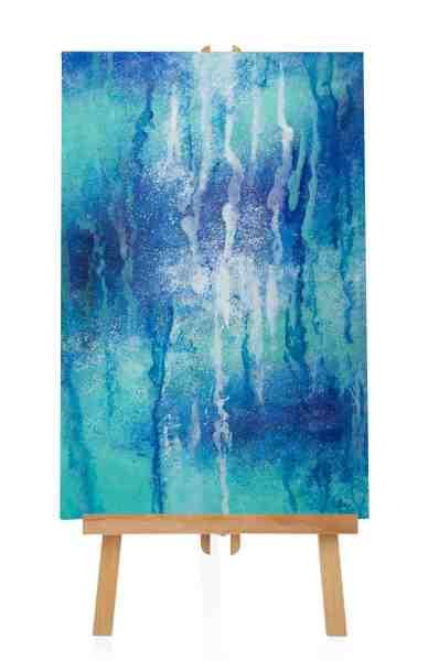 """Acrylbild """"Blue Natura"""""""