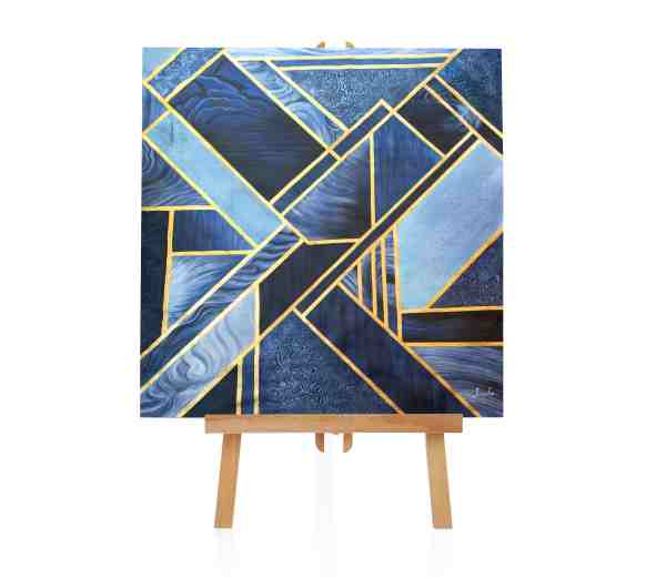"Acrylbild ""Box and Square"""