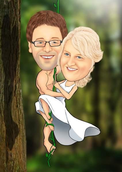 Tarzan und seine Braut