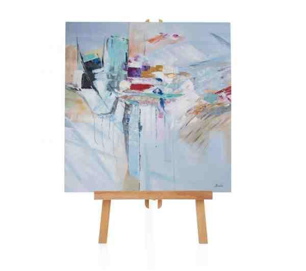 "Acryl Gemälde ""Why Content"""