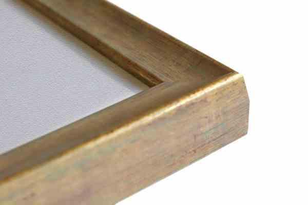 Stilvoller Holzbilderrahmen beige