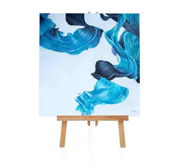 "Acryl Gemälde ""Seeing Blue"""