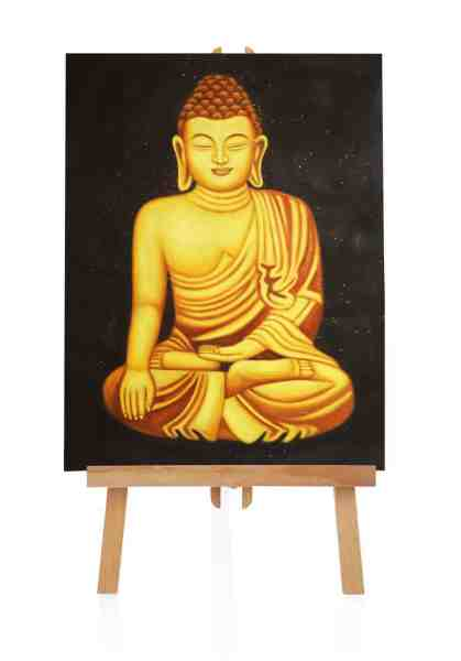 "Ölbild ""Buddha Meditation"""