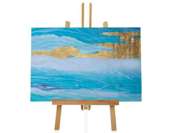 """Acrylbild """"Golden Sky"""""""
