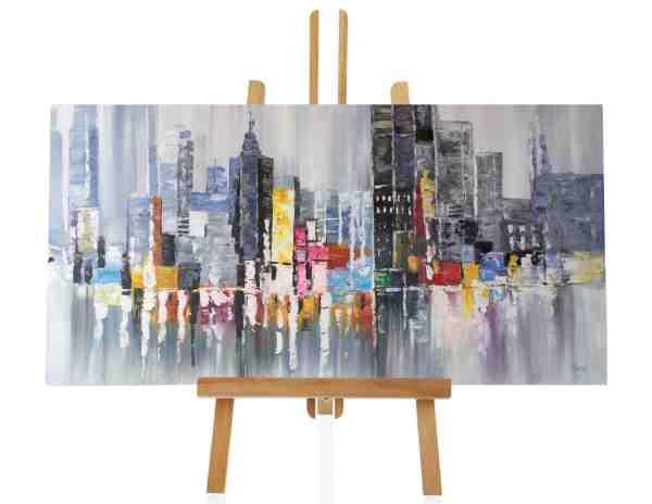 """Acrylbild """"Downtown"""""""