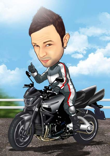 Macho Biker