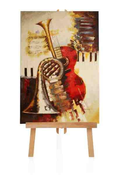"Ölbild ""Instruments"" 60x90 cm"