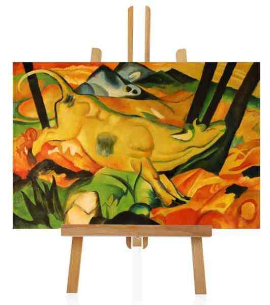 Gelbe Kuh von Franz Marc