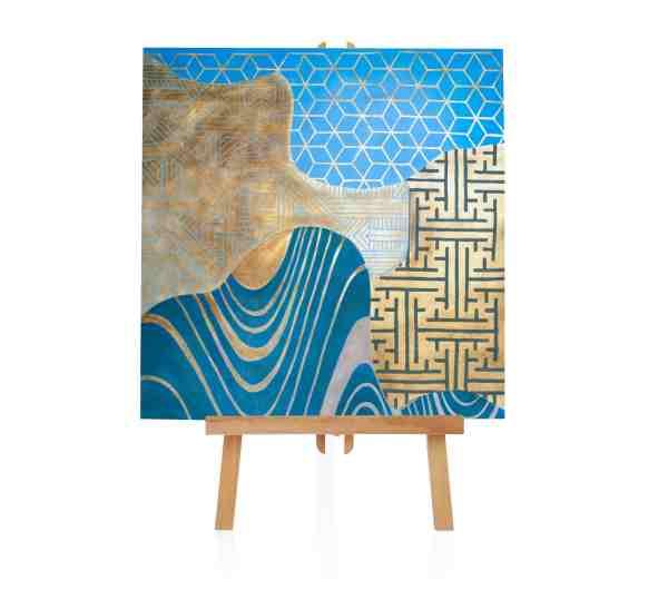 """Acryl Gemälde """"Maze"""""""