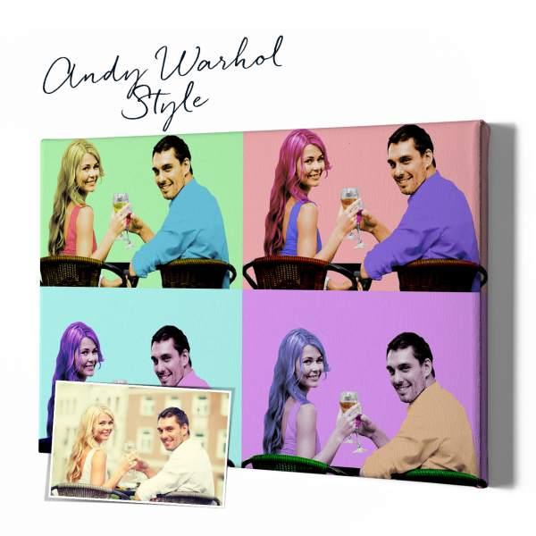 Andy Warhol Stil