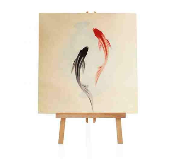 Yin Yang Ölbild