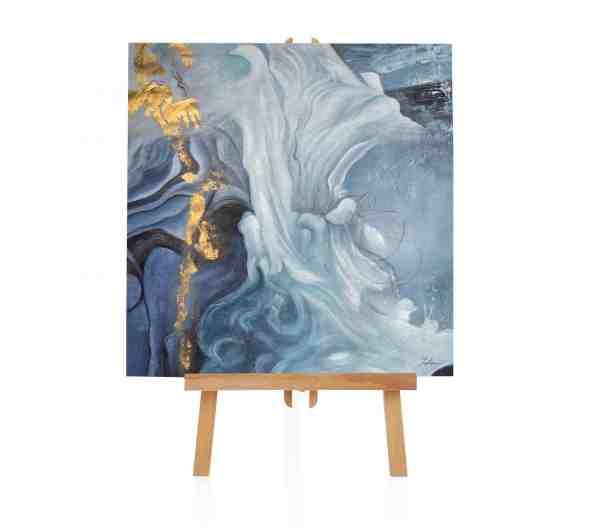 """Acryl Gemälde """"Hauch von Gold"""""""