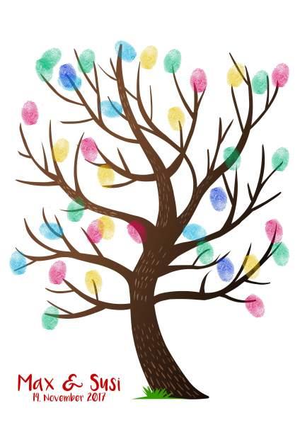Fingerabdruckbaum braun