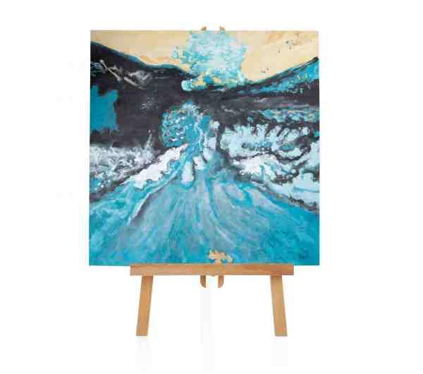 """Acryl Gemälde """"Better Beach"""""""
