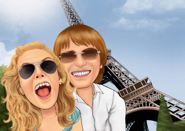 Spaß in Paris